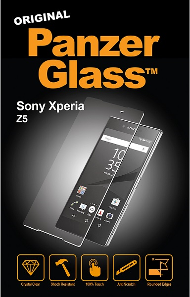Panzer Glass Sikkerhedsglas til Sony Xperia Z5