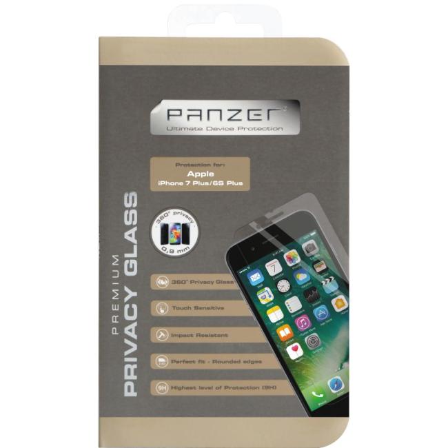 Billede af Panzer med privacy til iPhone 7 Plus / 8 Plus 4 Vejs