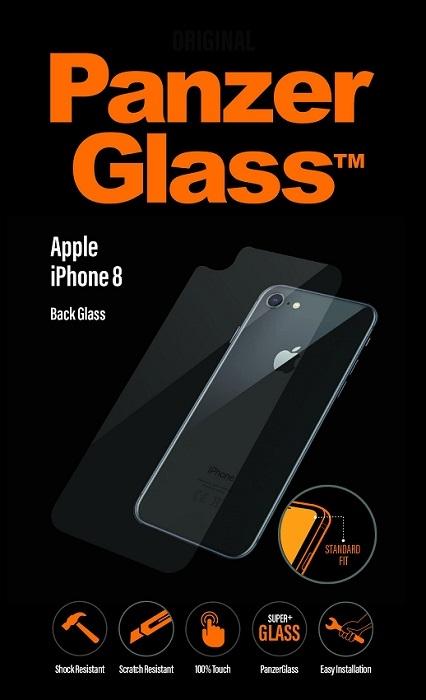 Billede af Panzer Glass Sikkerhedsglas bagside til iPhone 8