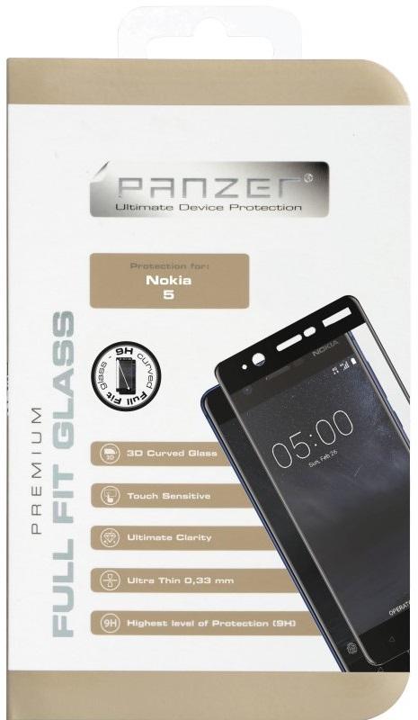 Billede af Panzer Glass Full Fit til Nokia 5 Sort
