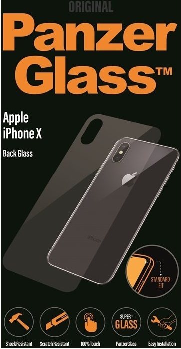 PanzerGlass Apple iPhone X/XS bagside glas
