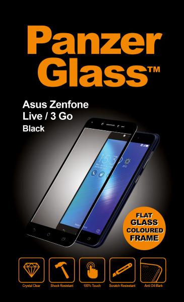 Image of   PanzerGlass Asus Zenfone Live/3 Go Black