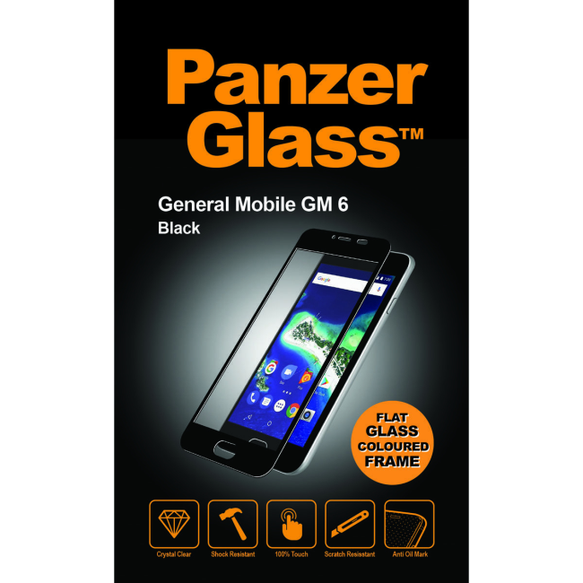 Image of   PanzerGlass General Mobile AndroidOne GM 6 Black