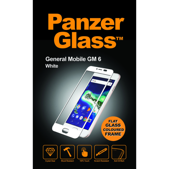Image of   PanzerGlass General Mobile AndroidOne GM 6 White