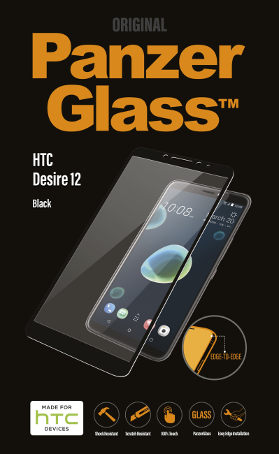 Image of   PanzerGlass HTC Desire 12 Black