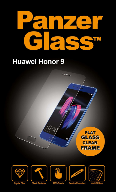Image of   PanzerGlass Huawei Honor 9 Clear