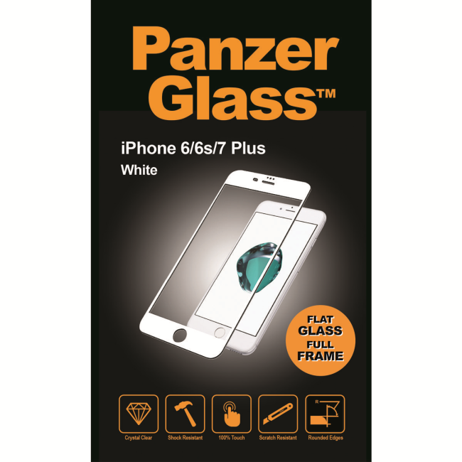 Image of   PanzerGlass iPhone 6/6s/7/8 Plus White