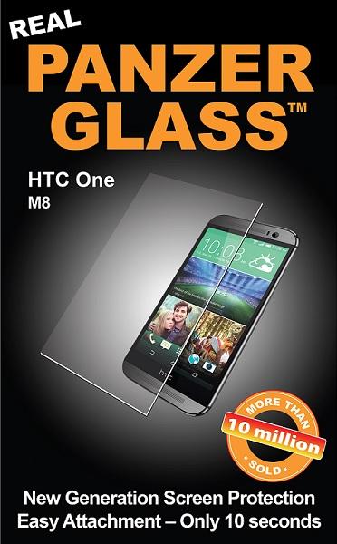 PanzerGlass Sikkerhedsglas til HTC One M8