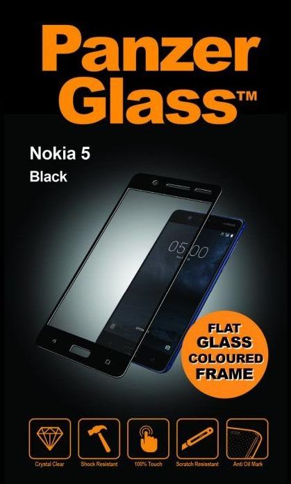 Billede af Panzer Glass Sikkerhedsglas Full Fit til Nokia 5 Sort