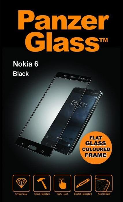 Billede af Panzer Glass Sikkerhedsglas Full Fit til Nokia 6 Sort