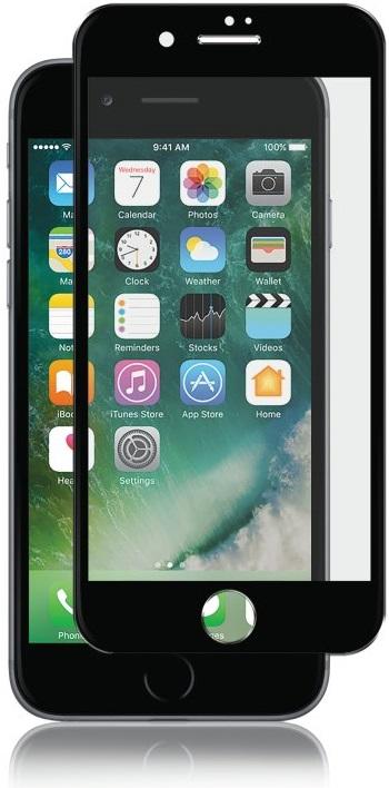 Billede af Panzer Glass Sikkerhedsglas Premium iPhone 6/6S/7 Plus Privacy Full Fit Jet Black