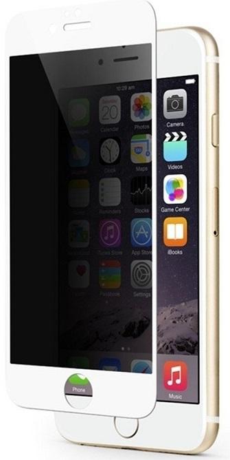 Billede af Panzer Glass Sikkerhedsglas Premium iPhone 6/6S/7 Plus Privacy Full Fit Hvid