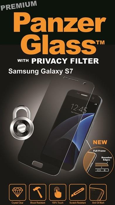 Billede af Panzer Glass Sikkerhedsglas Premium med privacy til Samsung Galaxy S7