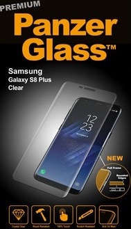 Billede af Panzer Glass Sikkerhedsglas Premium til Samsung Galaxy S8+ Plus Clear