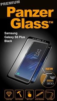 Billede af Panzer Glass Sikkerhedsglas Premium til Samsung Galaxy S8+ Plus Sort