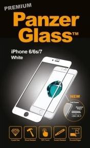 Billede af Panzer Glass Sikkerhedsglas Premium til iPhone 6/6S/7 Hvid