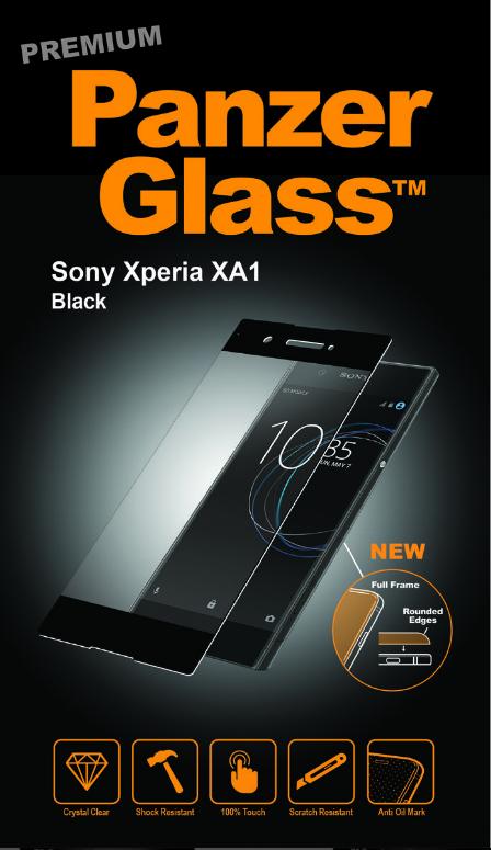Billede af Panzer Glass Sikkerhedsglas Premium til Sony Xperia XA1 Sort