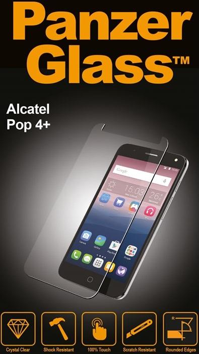 Billede af Panzer Glass Sikkerhedsglas Alcatel POP 4+ Dækker ikke hele skærmen
