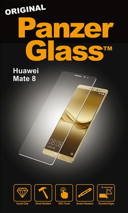 Billede af Panzer Glass Sikkerhedsglas Huawei Mate 8 Dækker ikke hele skærmen