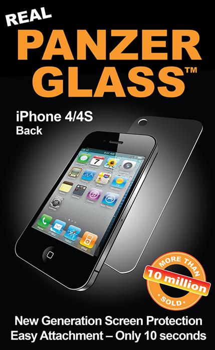 Billede af Panzer Glass Sikkerhedsglas iPhone 4/4S Back