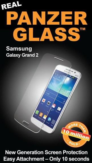 Billede af Panzer Glass Sikkerhedsglas Samsung Galaxy Grand 2 Dækker ikke hele skærmen
