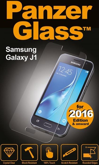 Billede af Panzer Glass Sikkerhedsglas Samsung Galaxy J1 (2016) Dækker ikke hele skærmen