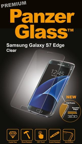 Billede af Panzer Glass Sikkerhedsglas Premium Til Samsung Galaxy S7 Edge Clear