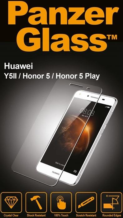 Billede af Panzer Glass Sikkerhedsglas Huawei Y5II/Honor 5/Honor 5 Play Dækker ikke hele skærmen