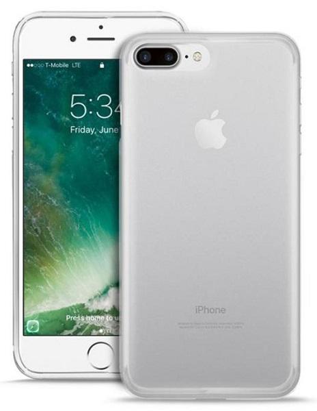 """Billede af Puro Flexible Plasma Cover til iPhone 7 Plus (5.5"""") Transparent"""