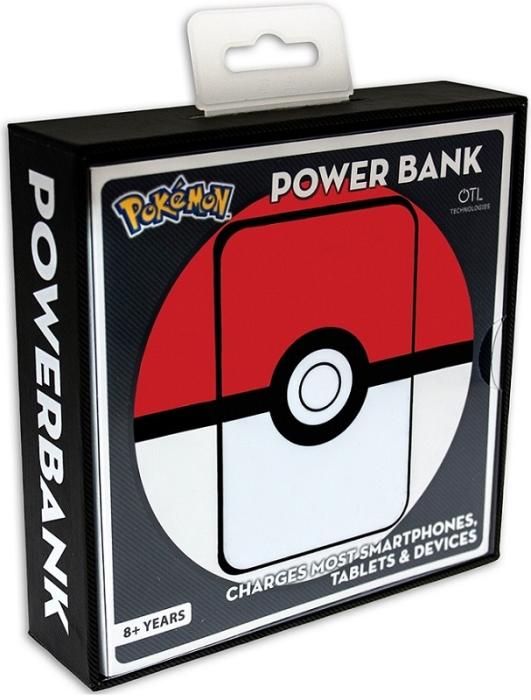 Image of   Pokémon Pokeball Eksternt batteri / Powerbank 5.000MaH