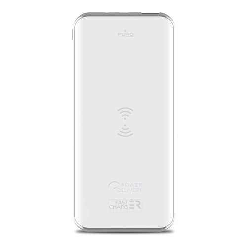 Image of   Power Bank 8000mAh Wireless + USB-A + USB-C 18W
