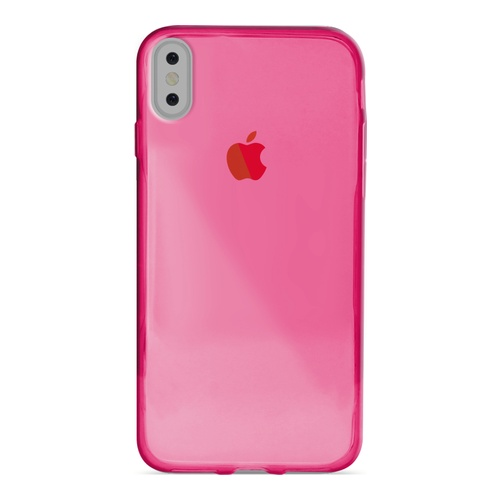 Image of   Puro 0.3 Nude Cover til Apple iPhone X/XS - Pink / lyserød
