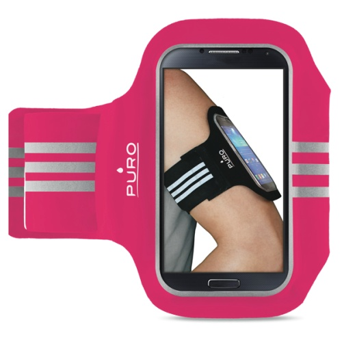 """Billede af Armbånd Puro universal til smartphones op til 5"""" - Pink"""