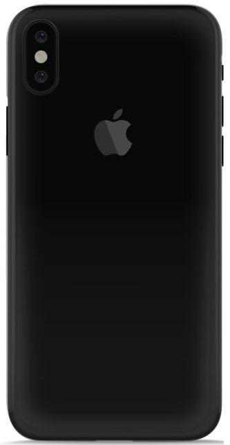 Image of   Puro Plasma Cover til iPhone X gennemsigtigt