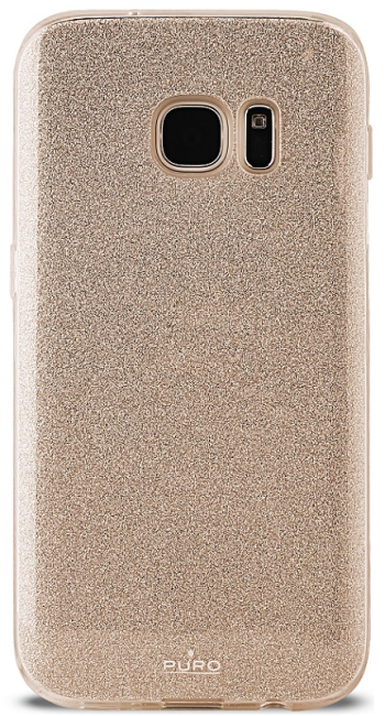Image of   Puro Samsung Galaxy S8 Shine Cover Gold
