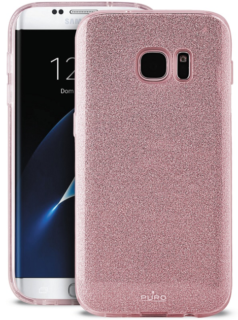 Image of   Puro Samsung Galaxy S8 Shine Cover Rose Gold