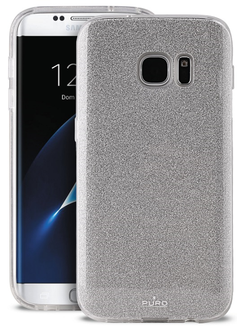 Image of   Puro Samsung Galaxy S8 Shine Cover Silver