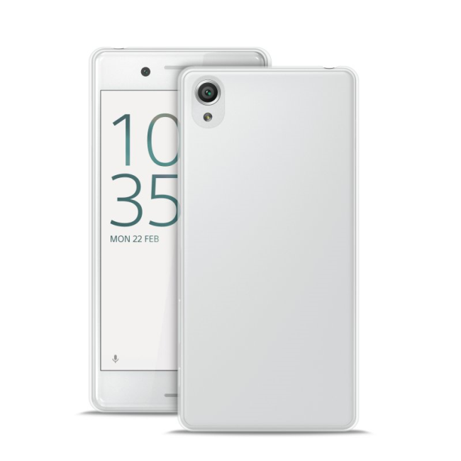 Image of   Puro Ultra Slim 0.3 cover Sony Xperia X Transparent