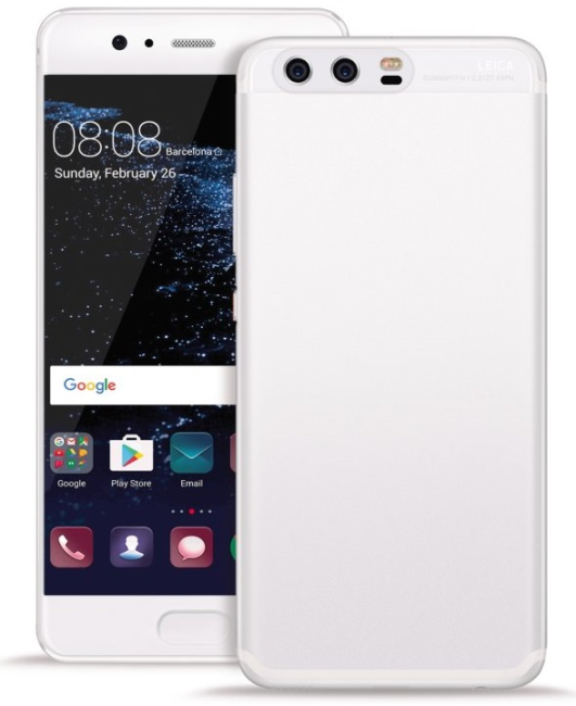 Image of   Puro Ultra-Slim 0.3 Nude Cover til Huawei P10