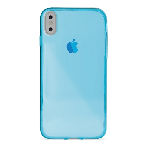Image of   Puro Ultra-Slim 0.3 Nude Cover til iPhone X blå