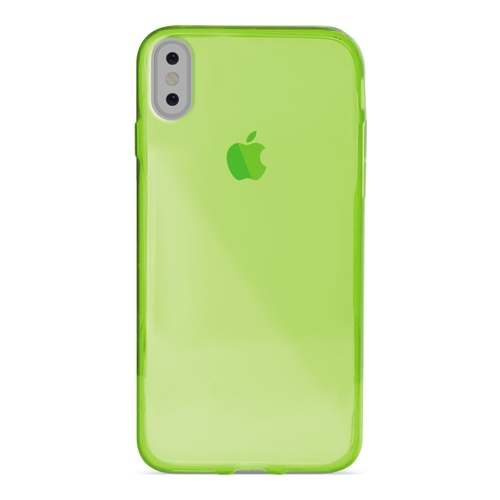 Image of   Puro Ultra-Slim 0.3 Nude Cover til iPhone X grøn