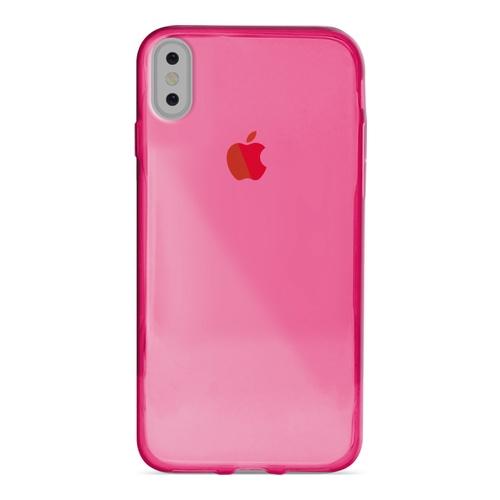 Billede af Puro Ultra-Slim 0.3 Nude Cover til iPhone X pink