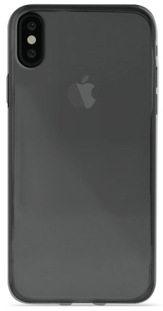 Image of   Puro Ultra-Slim 0.3 Nude Cover til iPhone X sort