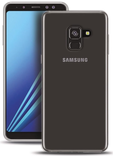 Image of   Puro Ultra-Slim 0.3 Nude Cover til Samsung Galaxy A8 (2018)