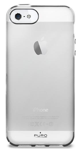 Billede af iPhone SE / 5S / 5 cover Puro Plasma - Transparent