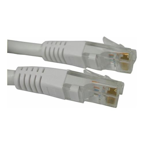 Image of   Qnect Netværkskabel Cat6 1.M. Hvid