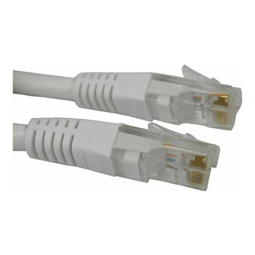 Image of   Qnect Netværkskabel Cat6 10 m hvid