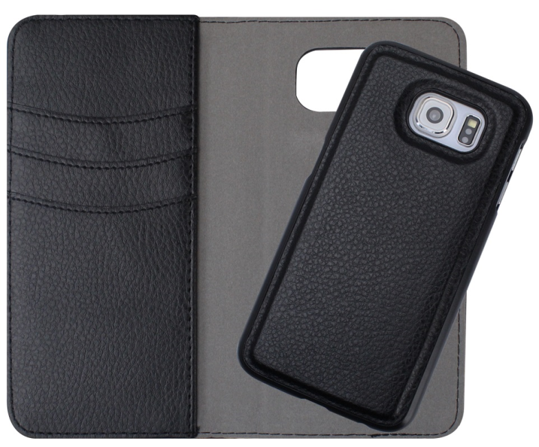 Image of   Redneck wallet cover til Samsung Galaxy S6 sort