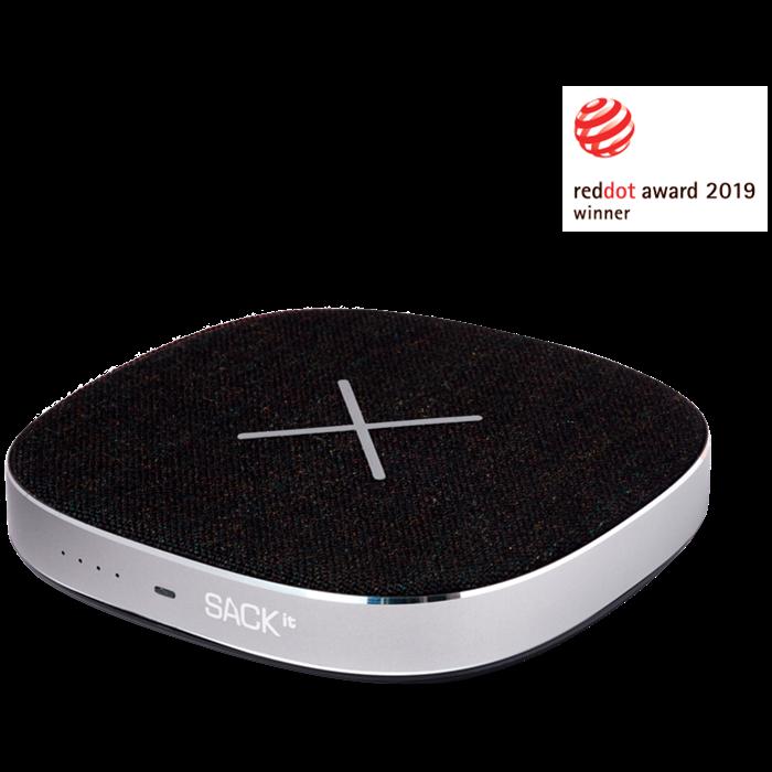 Image of   SACKit CHARGEit Wireless Powerbank 6.000 mAh Black