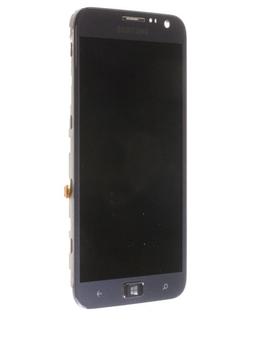 Image of   Originalt Samsung i8750 Ativ S Touch/LCD (Glas/skærm) modul - Sort